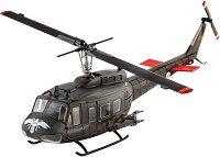 Военен хеликоптер - Bell UH-1H Gunship - Сглобяем модел -