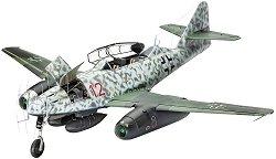 Военен самолет - Messerschmitt Me262 B-1/U-1 Nightfighter - Сглобяем авиомодел - макет