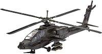 Военен хеликоптер - AH-64A Apache - Сглобяем модел -