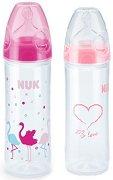 Бебешки шишета за хранене - My love: Лебеди - Комплект от 2 броя от 250 ml -