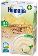 Био инстантна безмлечна каша - Грис - Опаковка от 200 g за бебета над 4 месеца - продукт