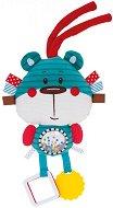 """Мека дрънкалка с дъвкалка - Мече - Бебешка играчка от серия """"Forest Friends"""" - играчка"""