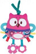 """Мека дрънкалка с дъвкалка - Сова - Бебешка играчка от серия """"Forest Friends"""" -"""