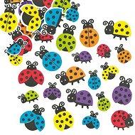 Стикери от EVA пяна - Калинки - Комплект от 100 броя