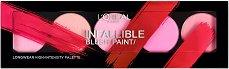 """L'Oreal Infallible Blush Paint Palette - Палитра с 5 цвята руж за лице от серията """"Infallible"""" - олио"""