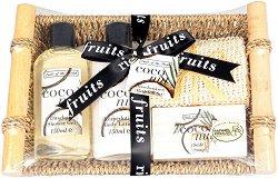 Raphael Rosalee Fruits of Paradise No.86 - Подаръчен комплект с козметика за тяло с аромат на кокос - продукт