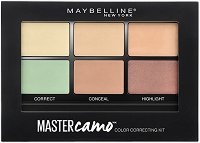 Maybelline Master Camo Color Correcting Kit - Палитра с коректори за лице - ролон