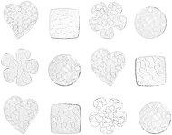 Фигурки от пластмаса в различни форми - Комплект от 12 броя за декориране
