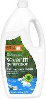 Почистващ препарат за съдове за хранене без аромат - Free & Clear - Опаковка от 1470 ml -
