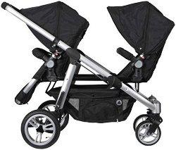 Комбинирана бебешка количка за близнаци - 2 Combi -