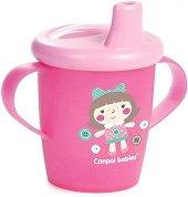 Неразливаща се чаша с дръжки и твърд накрайник - Haberman: Toys Collection 250 ml - За бебета над 9 месеца - продукт