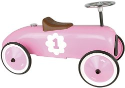 Метална ретро количка за яздене - Детска играчка -