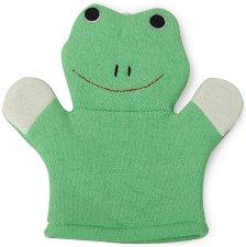 Ръкавица за баня - Жаба -