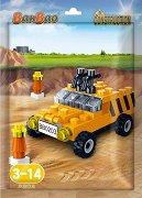 """Строителен джип - Детски конструктор от серията """"Construction"""" -"""