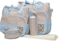 Аксесоари за детска количка - Stella - Комплект от 2 чанти, подложка за преповиване и термобокс - продукт