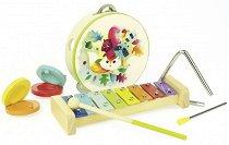 Комплект музикални инструменти - играчка