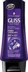 """Gliss Fiber Therapy Bonding Conditioner - Възстановяващ балсам за третирана и увредена коса от серията """"Fiber Therapy"""" - мляко за тяло"""