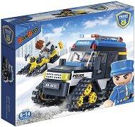 """Полицейски снегоход - Детски конструктор от серията """"Police"""" -"""