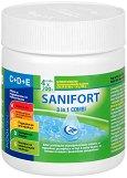 Мултифункционални таблетки 3 в 1 - Sanifort Combi 200 g - Комбиниран препарат за поддръжка на басейни