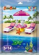 """Плаж - Детски конструктор от серията """"Trendy Beach"""" - играчка"""
