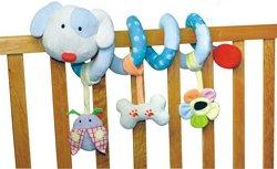 Кученце - Мека играчка за бебешко креватче или количка -