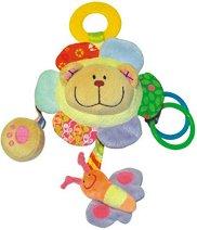 Меченце - Happy Teddy - Мека бебешка играчка -