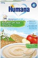Инстантна млечна каша - Елда и ябълка - Опаковка от 200 g за бебета над 6 месеца -