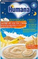 """Инстантна млечна каша """"Лека нощ"""" - Пълнозърнеста с банан - Опаковка от 200 g за бебета над 6 месеца - продукт"""