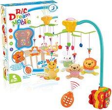 Музикална въртележка - Dream mobile - Играчка за бебешко креватче -