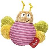 Пеперуда - Мека бебешка играчка с дрънкалка -