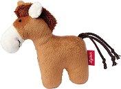 Конче - Мека бебешка играчка с дрънкалка - несесер