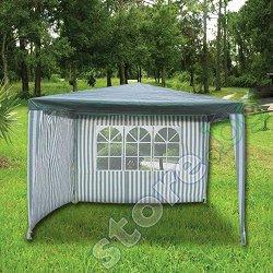 Градинска шатра със страници