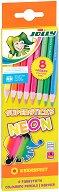 Цветни моливи - Kinderfest Neon Mix