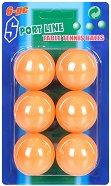 Топчета за тенис на маса - Комплект от 6 броя - топка