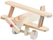 Сглобяемо дървено самолетче