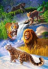 Големи котки - пъзел
