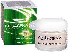 """Collagena Naturalis Lumisphere Day Cream - Дневен крем за лице за нормална до суха кожа от серията """"Naturalis"""" - олио"""