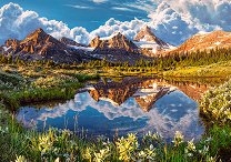 Огледало на Скалистите планини - пъзел