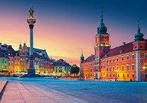 Площадът пред замъка във Варшава -