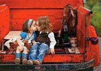 Първата целувка - пъзел