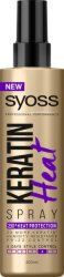 "Syoss Keratin Heat Spray - Термозащитен спрей за коса с кератин от серията ""Keratin"" - шампоан"