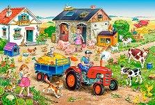 Животът във фермата - пъзел