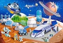 Космическа станция - пъзел