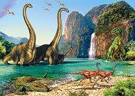 В света на динозаврите - пъзел