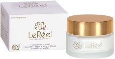 LeReel 24h Hydration with Snail Extract - Регенериращ и хидратиращ крем за лице с екстракт от охлюви - маска