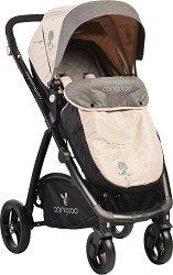 Комбинирана детска количка - Stefanie Flax - С 4 колела -