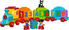 """Моят първи влак на числата - Детски конструктор от серията """"LEGO Duplo"""" - играчка"""