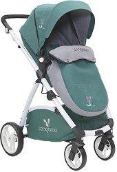Комбинирана детска количка - Stefanie - С 4 колела -
