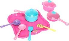 Детски комплект съдове за готвене -