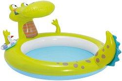 Детски басейн с пръскалка - Крокодил -
